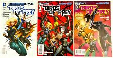 Birds Of Prey #0,1,2 Lot DC New 52 Batgirl VF/NM- condition 2011/2012 Katana