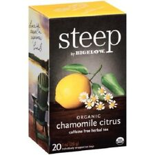Steep by Bigelow Organic Chamomile Citrus Herbal Tea