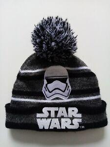 Star Wars STORM TROOPER  Kids Bobble Hat/Beanie  (One Size) Free Postage