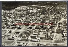 Aerial View of SKILLINGARYD, Sweden. Vintage Real Photo Postcard, circa 1950s?