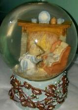 Mother child daughter Christmas Time Snow Globe family Baker baking bakery gift