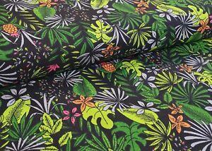 100% Cotone Tessuto Patchwork Decorativo Rivestimento Fogli Tropic