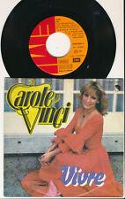 """EUROVISION 1978 45 TOURS 7"""" BELGIQUE CAROLE VINCI VIVRE"""