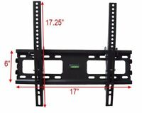 Slim Tilt TV Wall Mount Bracket LCD LED Plasma 26 32 37 42 43 47 50 55 65 70inch