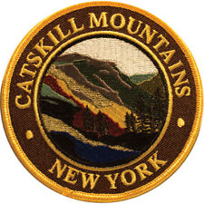 Mountain Patches Catskill Mountains Embroidered Hiking Patch