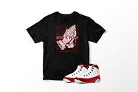 God's Plan T-Shirt to Match Air Jordan 9 Retro Gym Red Pro Club All Sizes