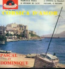 """7"""" pascal et Dominique/Corsica d 'Amor (France-EP)"""