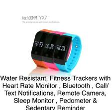 Lot of 150 TechComm YX7 Water-Resistant Fitness Tracker w/Heart Rate Monitor & +