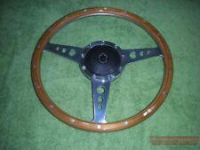"Steering Wheel (14"" Timber) & Boss, MGA MGB MGC >68, MG Midget, Austin Healey"