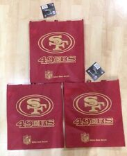 49ers San Francisco Reusable Bag - 3 Bags for $14.50 - by Forever
