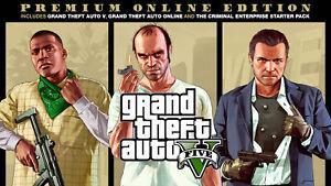 Grand Theft Auto GTA V 5 Premium Online Edition (PC) Rockstar KEY - RegionFree