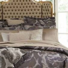 SFERRA ROSETO SAND PAIR OF STANDARD SHAMS 2 SHAMS Egyptian cotton jacquard $380