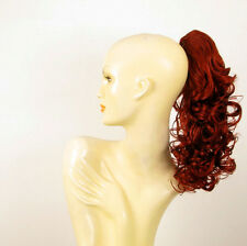 Hairpiece ponytail curly copper intense 15.75 ref 3/350 peruk