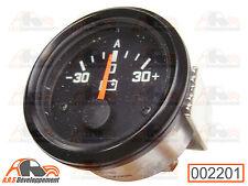 Manomètre ampèremètre cerclage noir Citroën 2cv dyane méhari -2201