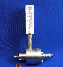 W.A.Kates 25FS5 Mini-Flo Automatic Flow Rate Controller .25GPM W/ KING FLOWMETER