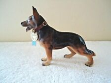 "Vintage Napcoware # C6742 Champion German Shepherd Dog Figurine "" BEAUTIFUL ITEM"