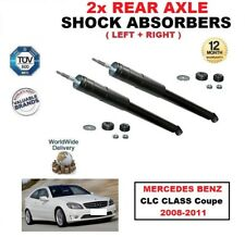 REAR LEFT + RIGHT SHOCK ABSORBER SET for MERCEDES BENZ CLC CLASS Coupe 2008-2011