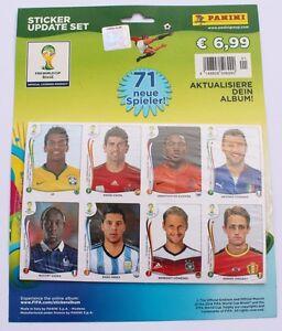 Panini WM 2014 Brasilien - Update Set 71 Sticker