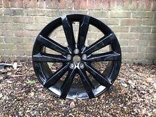 "1x Genuine Jaguar F-Pace 20"" Venom Alloy Wheel Rim Black 8.5Jx20 (HK8M-1007-HA)"