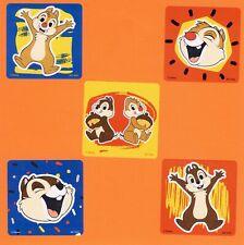 10 Chip 'N Dale Large Stickers - Party Favors - Rewards - Chipmunks