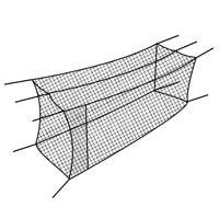 Cimarron Sports CM-302024TP Baseball/Softball Batting Cage Net, 30x12x10 Feet