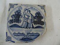 alte antik Antike Fliese Fliesen Kachel Keramik Wandfliese Schönes Motiv