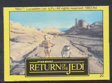 Monty Gum - Star Wars - Return of The Jedi - Card No 20 (S213)