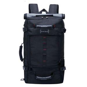 Unisex Laptop Bag 17.3 Inch Large Capacity Travel Luggage Shoulder Backpack
