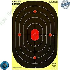 Bulleye Splatter Spots Targets 12 X 18 10 Packs See Your Hits Insta Shooting New