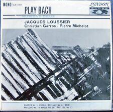 Jacques Loussier; Play Bach, Numero Deux           London Globe