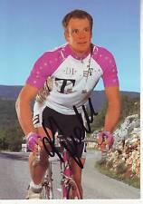 CYCLISME carte cycliste KAI HUNDERTMARK équipe DEUTSCHE TELEKOM 1996 signée