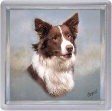 Border Collie Dog Coaster No 5 by Starprint