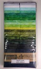 Java Jungle Tonga Treat Strips Batik Fabrics 2.5 Inch 40 Assorted Strips 15772