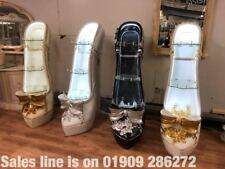 Cinderella Shoe Hand Crafted Display Cabinet With Diamonte Inserts
