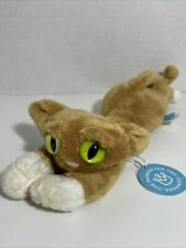 """Manhattan Toy Lanky Cats Goldie 14"""" Plush new with tag"""