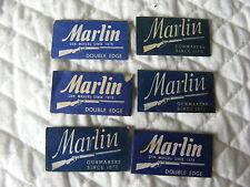 6 Marlin Razor Blades for C-1 Emergency Sustenance Escape Evasion Survival Vest