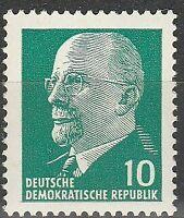 DDR #Mi846 MNH CV€0.30 1961 Ulbricht [583]