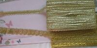 METALLIC Braid GOLD 16 & 25 mm Widths - 3 & 4.25 Metre - 2 Style Choice SRbx