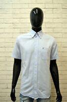 Camicia Uomo LACOSTE Taglia 39 ( L ) Polo Camicetta Manica Corta T-Shirt Estate