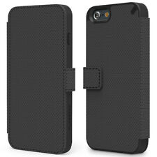PureGear Apple iPhone 6S Credit Card Folio Case W/ Convertible Kickstand Black