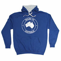 Made In Australia HOODIE hoody birthday oz ozzie aussie nation beer funny gift