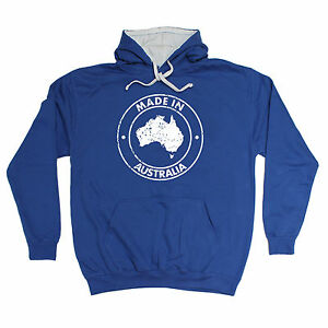 Made In Australia HOODIE hoody birthday oz ozzie aussie nation beer funny gift