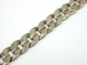 "STAINLESS CURB LINK MEN'S CHAIN NECKLACE LENGTH 20"" - 9.4 mm - 50.3 grams"