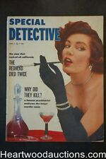 """Special Detective"" April 1953 Fight For Freedom - Louis Hoffner"