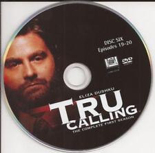 Tru Calling (DVD) Season 1 Disc 6 Replacement Disc U.S. Issue
