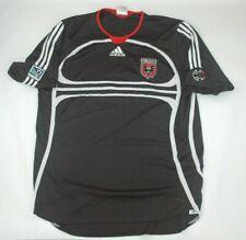 Black Vintage 2007 Adidas Mls Dc D.C United Soccer Jersey Football Shirt Xl