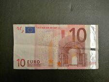 billet 10 euro Duisenberg Allemagne