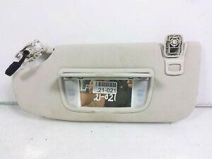 13 14 15 Ford Fusion Driver Left Sun Visor Interior Roof Block Ds7z-5404105-Ka