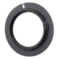 M42-AF M42 Thread Lens to AF Camera Mount Metal Stepping Ring Adapter