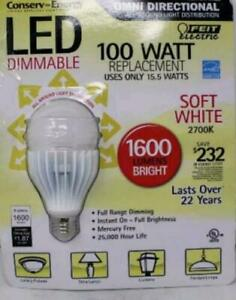 Feit Electric Dimmable LED Soft White 100 Watt Replacement Bulb 1 Count